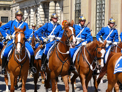 Changing of the Guards in Stockholm