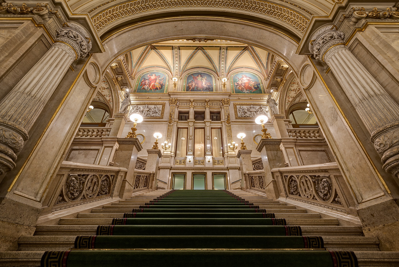 Grand Staircase of the Vienna Opera House