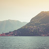 On the Waters of Lake Como, Italy
