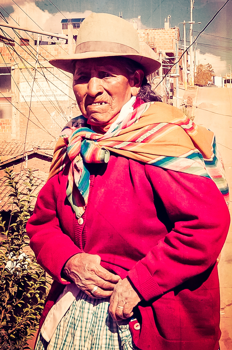 Peruvian Woman on the Streets of Cusco