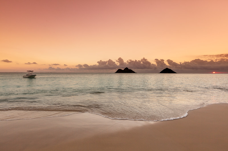 Sunrise from Lanikai Beach