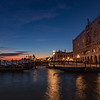 Twilight Falls on Venice Italy
