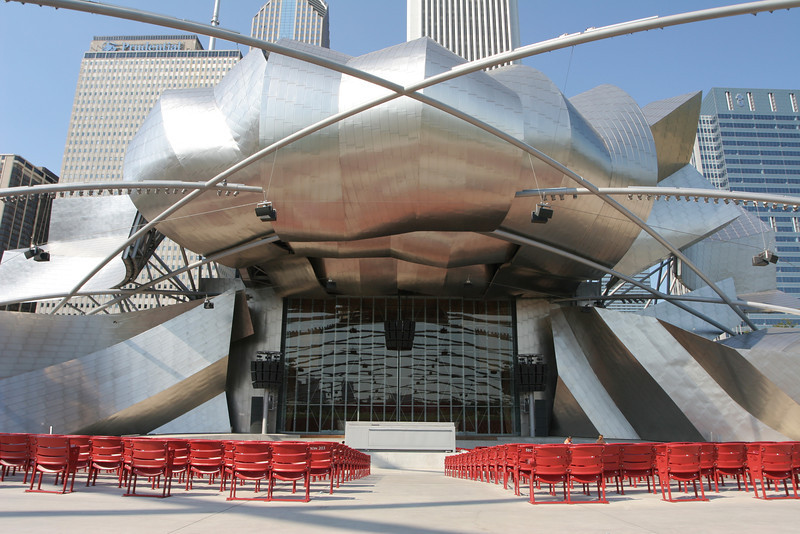 Chicago's Millenium Park Concert Hall