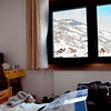We ended up in a surprisingly cheap real hotel in Mörel that could not have been in a better location, being connected to the gondola, the travel center, and across the street from the Coop.