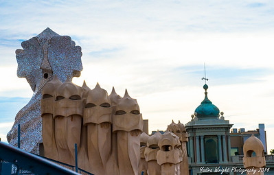 "Casa Mila "" La Pedrera"" - Barcelona Spain 2014"