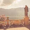 Villa Balbianello Pointing Statue