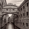 Early Morning View of the Bridge of Sighs, Venice, Italy