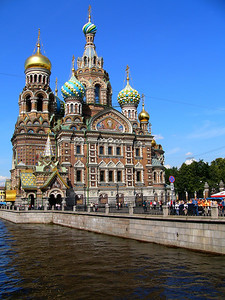 Church of Spilled Blood, St. Petersburg