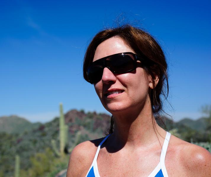 Linda in McDowelll Sonoran Preserve