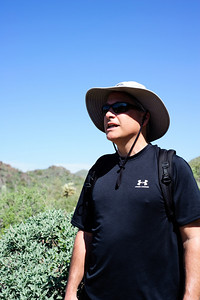Michael in McDowell Sonoran Preserve