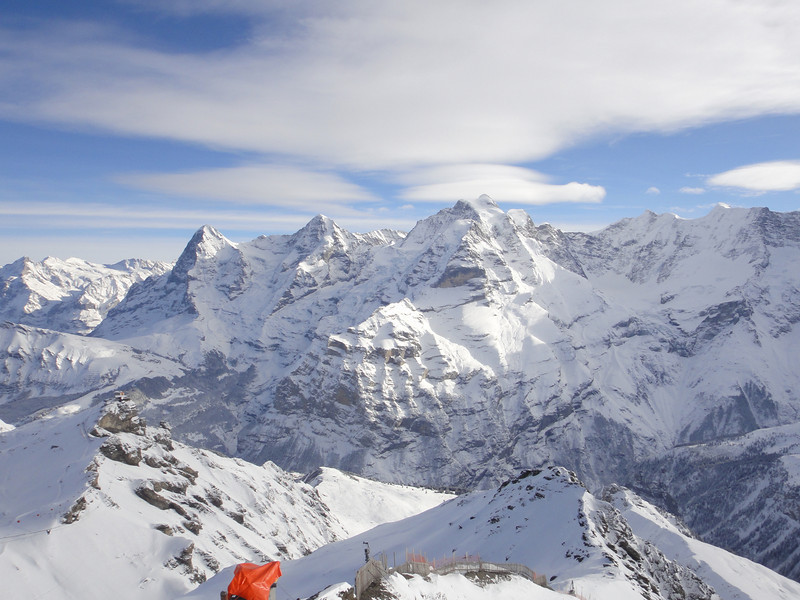 View from the Schilthorn.