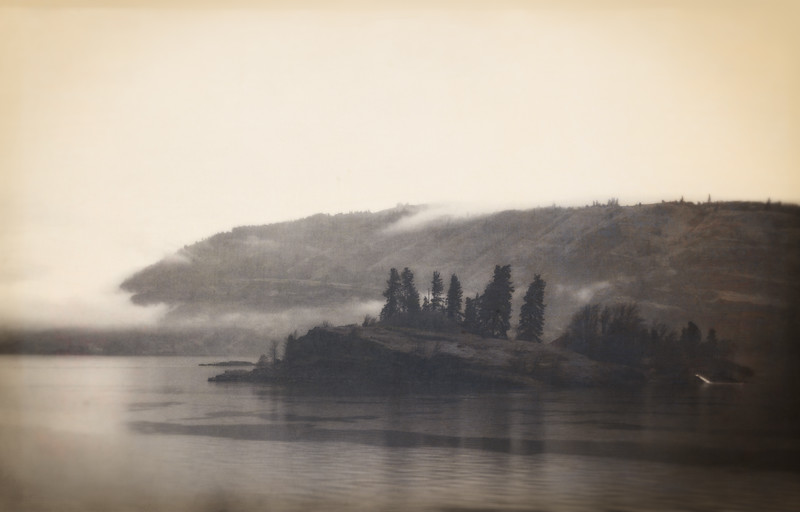 Island in the Columbia River