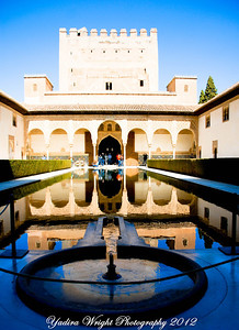 La Alhambra, Granada Spain - March 2012
