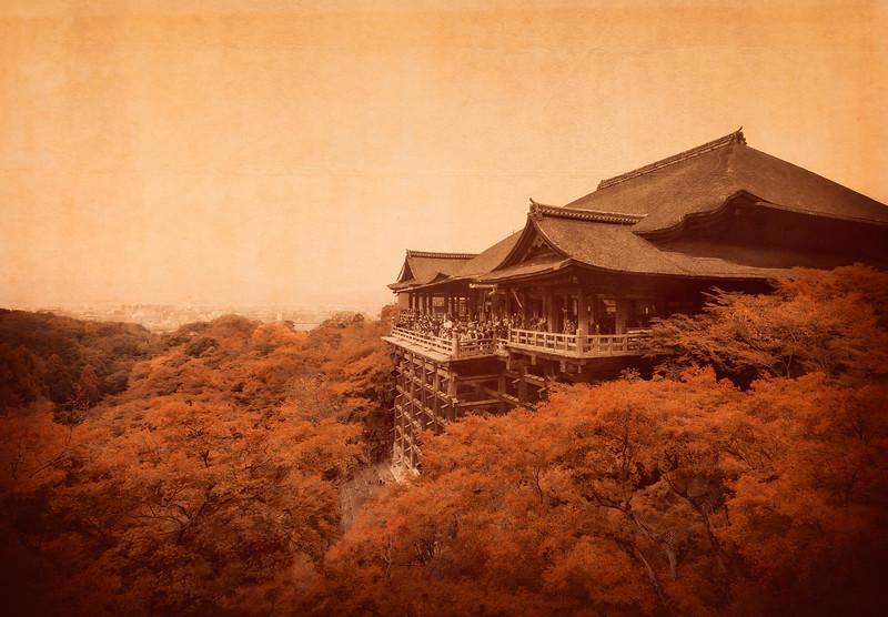 Fall at Kiyomizu-dera, Kyoto, Japan