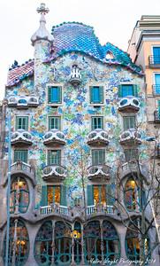 Casa Batllo - Barcelona, Spain 2014