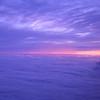 Sunrise over the Pacific Northwest.