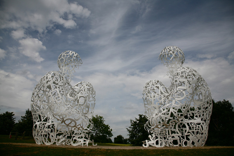 At the West Yorkshire Sculpture Park, 2011