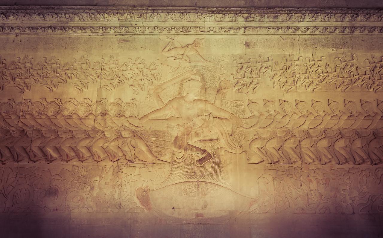 Angkor Wat Temple Carvings