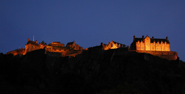EdinburghCastleatNight