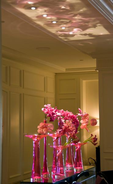 Orchids in the Ritz Carlton lobby, Monarch Beach, CA