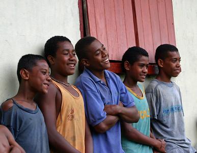 Fiji Village boys