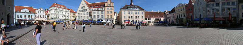 Talin Square in Estonia