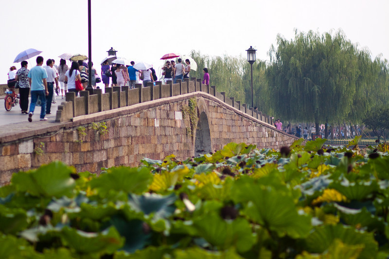 Duanqiao (Broken Bridge) in Hangzhou, China.