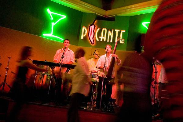 Salsa Band; San Juan, Puerto Rico