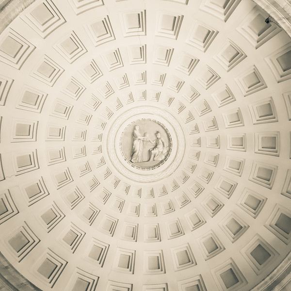 Domed Ceiling in the Vatican Museum