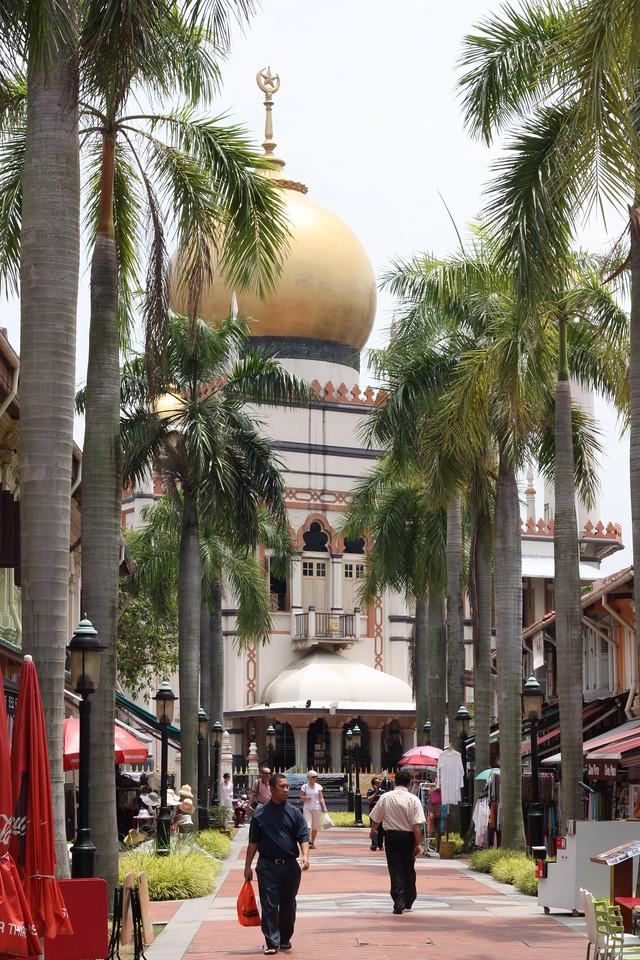 Islamic temple, Singapore.