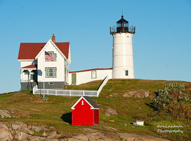 Nubble's Lighthouse, York Harbor, Maine
