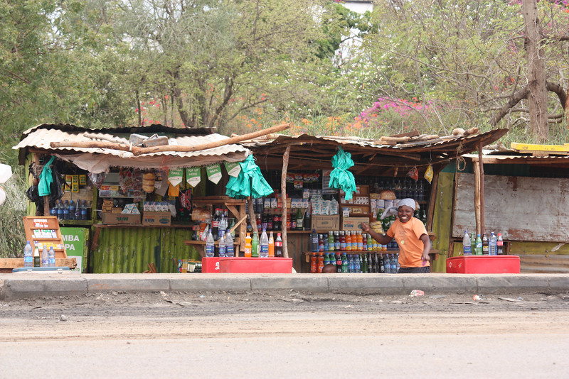 Drinks stall, Kenya