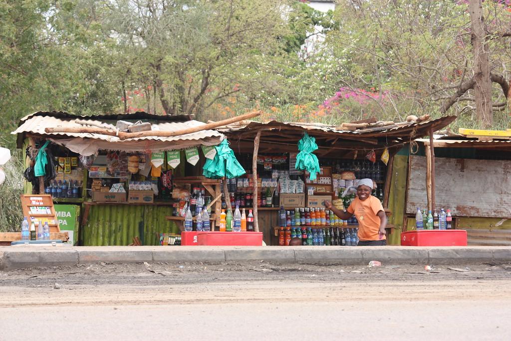 Drinks stall, Kenya
