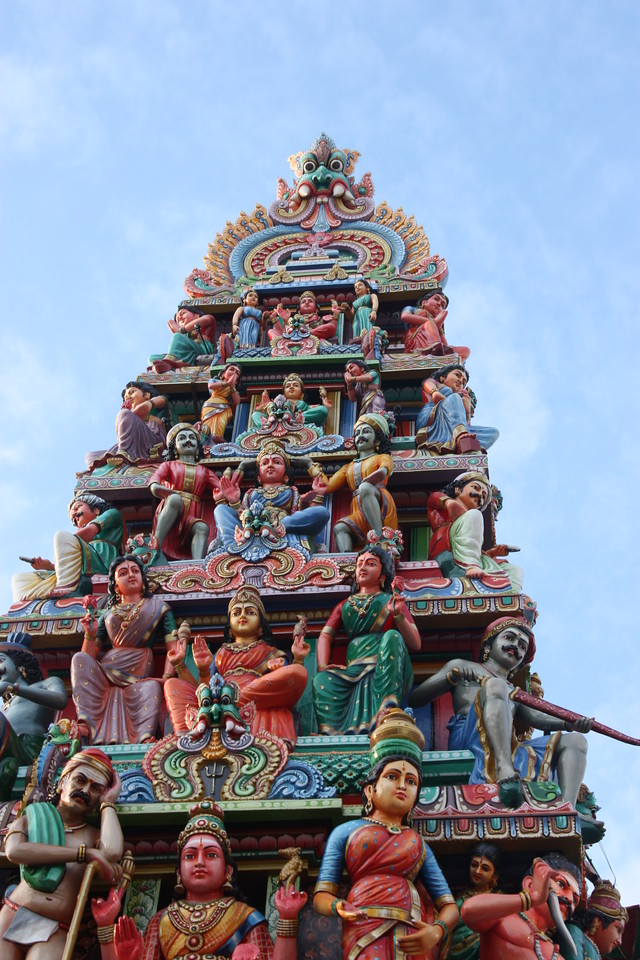 Hindu temple,Singapore