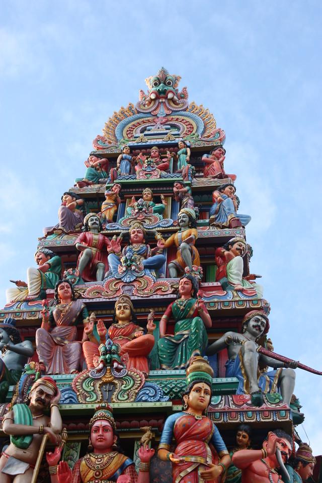 Hindu temple,Singapore