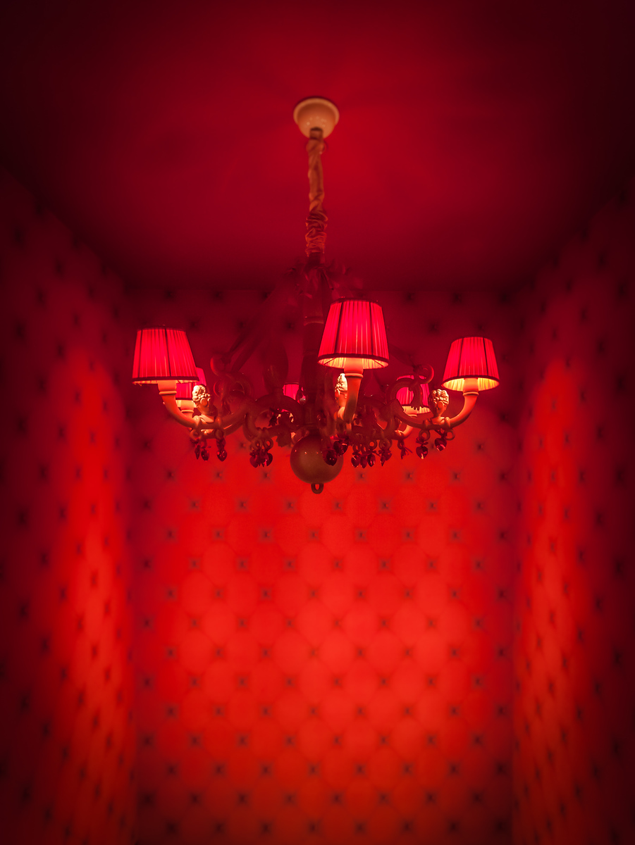 Red Room in Amsterdam