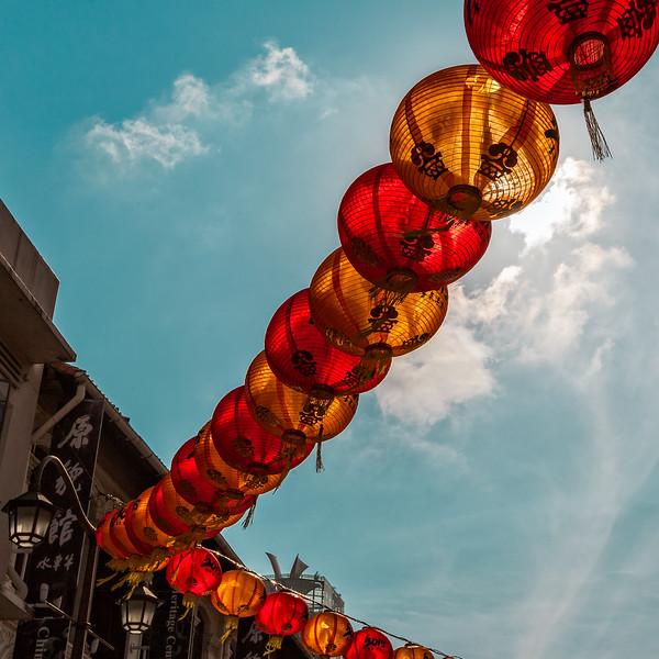 Chinese Lanterns in Singapore