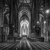 St. Stephen's Cathedral Interior in Vienna, Austria