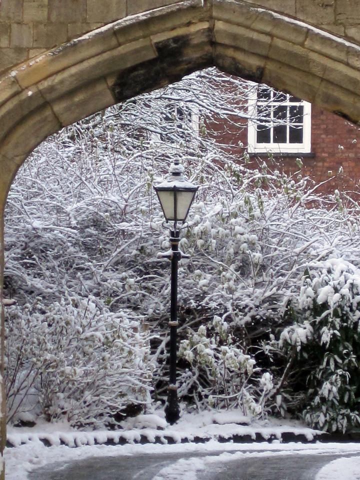 December in York, UK