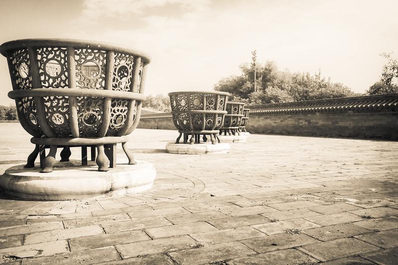 Temple of Heaven Fire Baskets