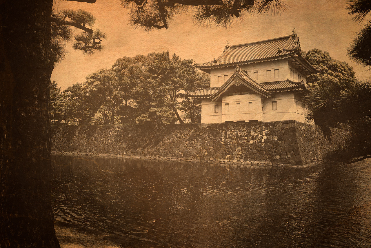 Old Guard House of Japan's Imperial Palace