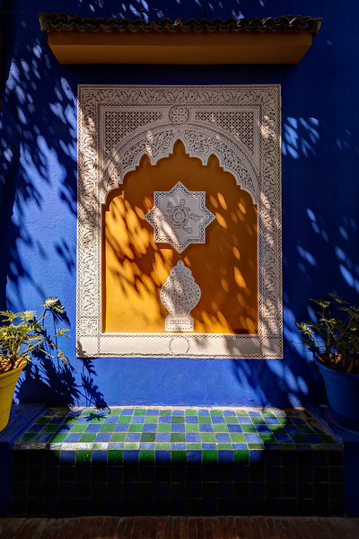 A Place to Sit at Jardin Marjorelle