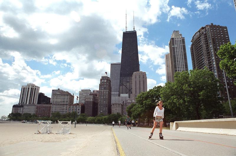 Roller Skater, Chicago 2004