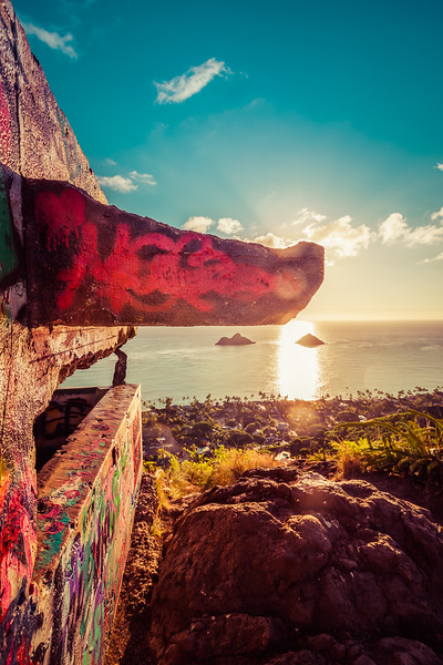 The Lanikai Pillbox Hike