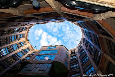 "Casa Mila ""La Pedrera"" - Barcelona, Spain 2014"