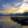 morning on Lake MacDonald<br /> Glacier National Park