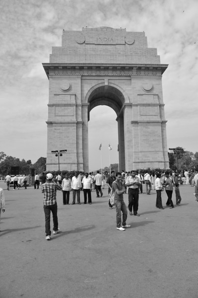 India Gate - war momorial in central New Dehli.