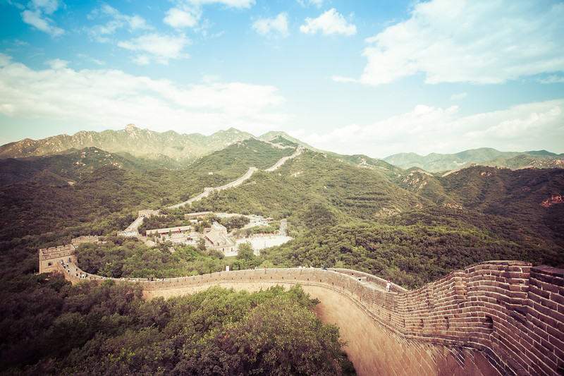 Badaling Section of The Great Wall