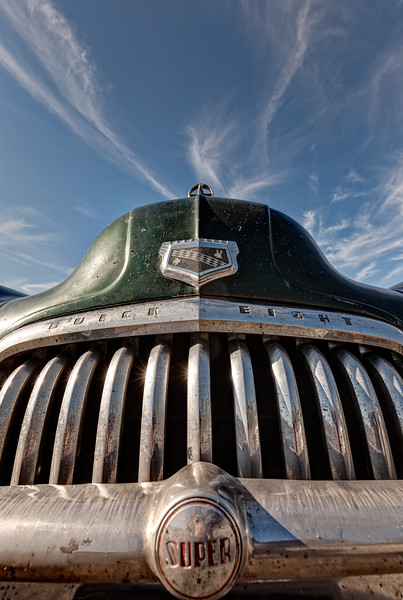 Buick Super Eight at the Grand Canyon