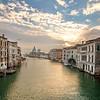 Sunrise on Ponte dell'Accademia, Venice, Italy